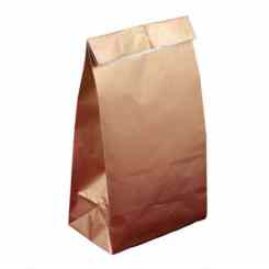 Gold Paper Party Bags - Paper Gift Bags