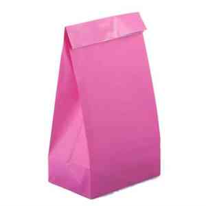Neon-Pink-Paper-Party-Bags
