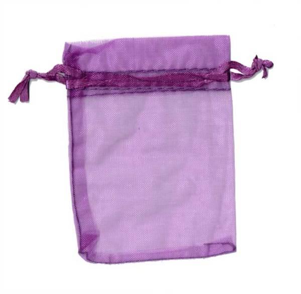Organza Bag Purple