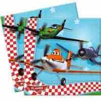 Disney Planes Napkins 16pk - Party Bag Fillers Clearance