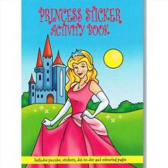 Princess Sticker Books A6 – Party Ideas