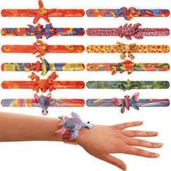 Animal Party Slap Bands / Snap Bands