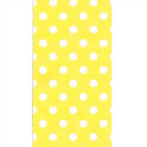 Yellow-Polka-Paper-Bag