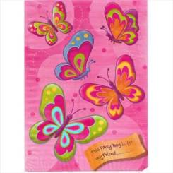 Butterfly Cute Party Bags -Butterfly Goodie Bags