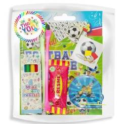 Pre Filled Party Bags – Football Party Bag Ideas