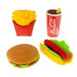 Fast-Food-Erasers