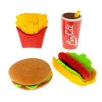 Fast-Food-Erasers