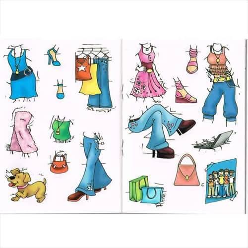 Glamour-Girls-Sticker-Books-Sticker