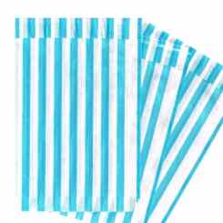 Pick n Mix Bags - Light Blue Paper Party Bags