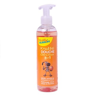 Bubbly Bubbles Knuffeldouche Basket Oranje 250ml