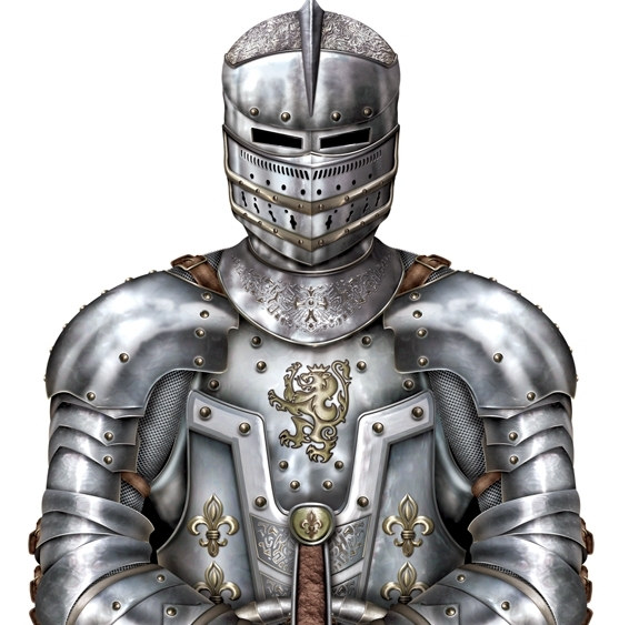 Jointed Suit of Armor - 6 ft tall - PartyCheap