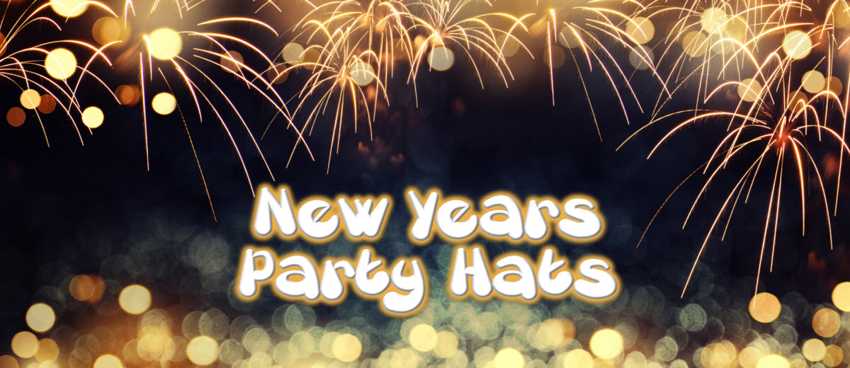 New Years Party Hats