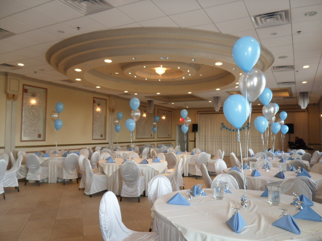 BOY BAPTISM PARTY DECORATIONS BY TERESA