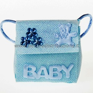 Zainetto Baby Celeste (12 pz) STOCK-0