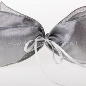 Sciarpa Moire Argento (10 pz) -0
