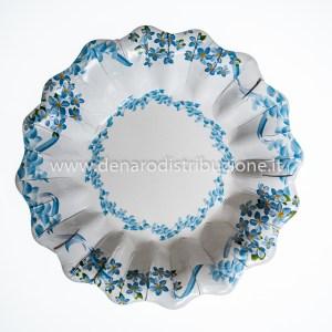 Piatti Fondi Fiori Azzurri | Tenerezze 10 Pezzi-0