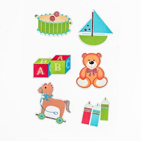 Stickers Bimbo (6 pezzi)-0