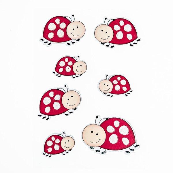 Stickers Coccinella (6 pezzi)-0