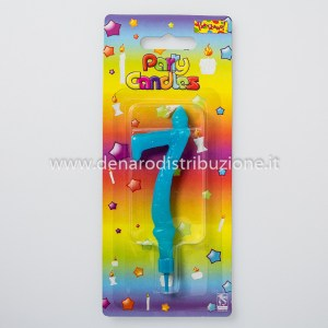 Candela Old Style Numero 7 Azzurro-0