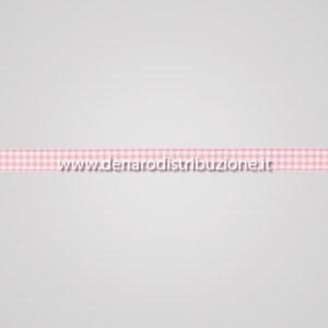 Nastro quadretti Rosa mm15-0