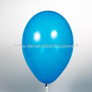 """Palloncino Tondo Blu Pastello 10""""/25 cm. (25 Pezzi)-0"""