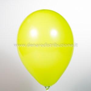 """Palloncino Tondo Giallo Pastello 12""""/30 cm. (100 Pezzi)-0"""