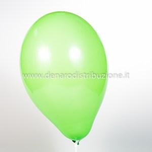 """Palloncino Tondo Verde Medio Pastello 10""""/25 cm. (25 Pezzi)-0"""