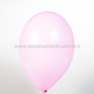 """Palloncino Tondo Rosa Pastello 10""""/25 cm. (25 Pezzi)-0"""