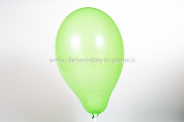 """Palloncino Tondo Verde Chiaro Pastello 5""""/13 cm. (100 Pezzi)-0"""