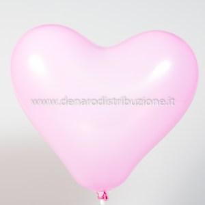 """Palloncino Cuore Rosa 12""""/30,5 cm. (100 Pezzi)-0"""