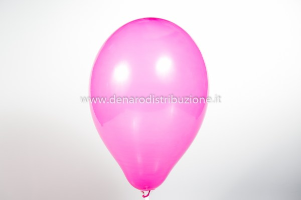 "Palloncino Tondo Fucsia Pastello 10""/25 cm. (25 Pezzi)-0"