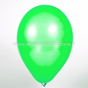 """Palloncino Tondo Verde Medio Pastello 12""""/30 cm. (100 Pezzi)-0"""