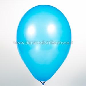 """Palloncino Tondo Blu Pastello 5""""/13 cm. (100 Pezzi)-0"""