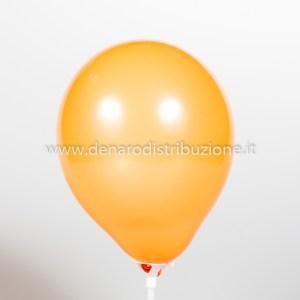 """Palloncino Tondo Arancione Pastello 5""""/13 cm. (100 Pezzi)-0"""