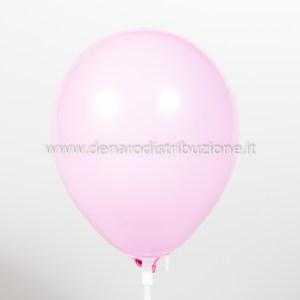 """Palloncino Tondo Rosa Pastello 5""""/13 cm. (100 Pezzi)-0"""