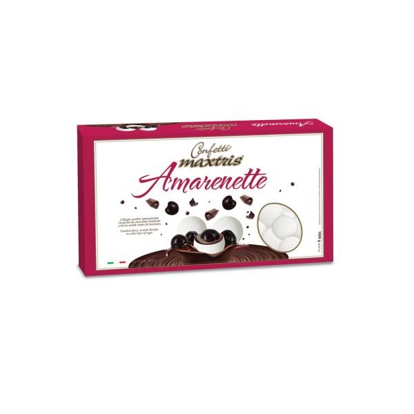 Confetti Maxtris Amarena e Cioccolato | Amarenette Bianco-0