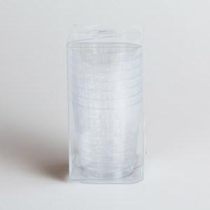 Bicchieri Trasparenti | Plastic & Chic 8 pezzi-0