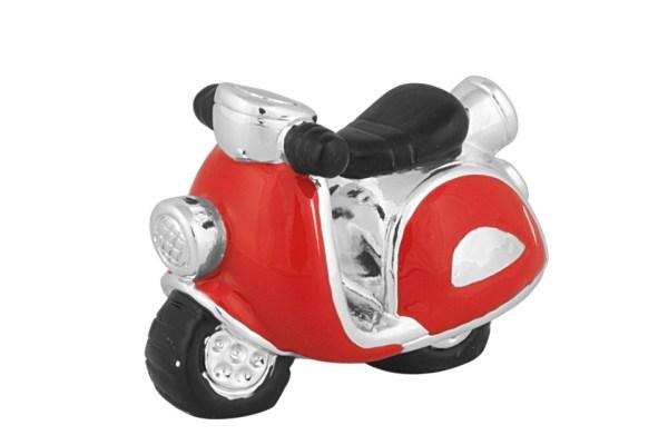 Bomboniera scooter rosso Grande (4 pezzi)-0