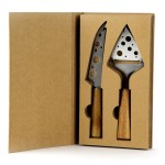 Set Coltello e Paletta Bomboniera Linea Wood-0