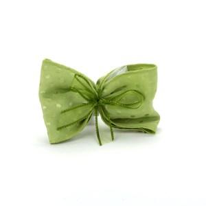 Pois sciarpa piccola Verde -0