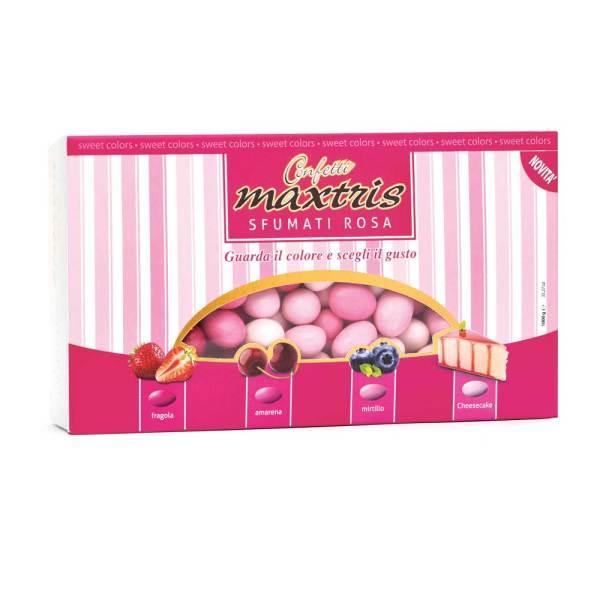 maxtris cioccomandorla sfumati rosa