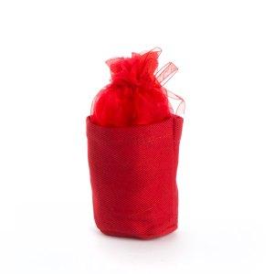 Puffo origami Rosso STOCK-0