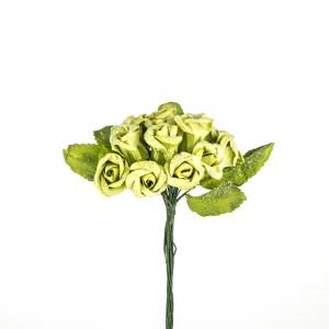 bomboniere fiori rosine verdi - Denaro distribuzione
