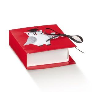 SCATOLA BOOK GUFETTO 7 X 6 X 2,5 CM (10 PZ)-0