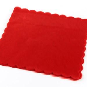 Velo di Fata quadrato Rosso 23X23-0