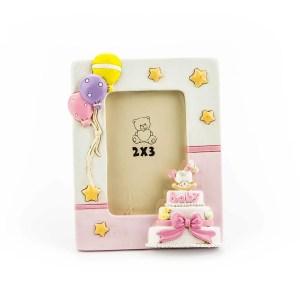 bomboniera porta foto torta rosa - Denaro distribuzione