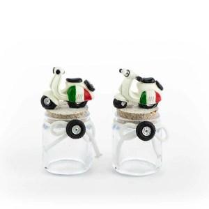 bomboniera barattolo moto italia - Denaro distribuzione