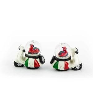 bomboniera moto italia palla neve - Denaro distribuzione