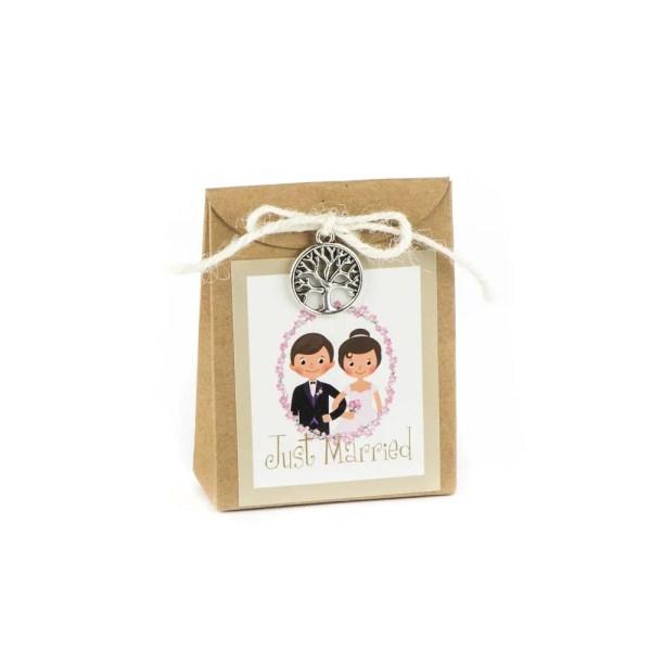 scatola portaconfetti sposi