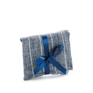 bustina portaconfetti blu righe